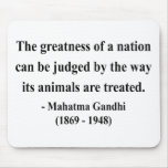Gandhi Quote 2a Mousepads
