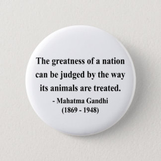 Gandhi Quote 2a Pinback Button