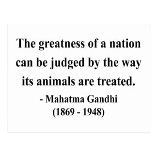 Gandhi Quote 2a Postcards