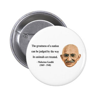 Gandhi Quote 2b Pinback Button
