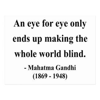 Gandhi Quote 3a Postcard