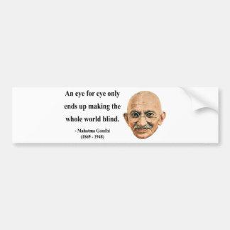 Gandhi Quote 3b Bumper Sticker