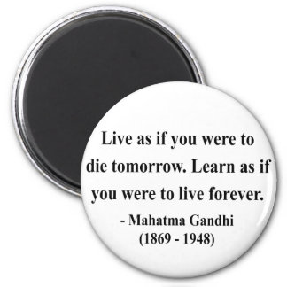Gandhi Quote 4a Magnet