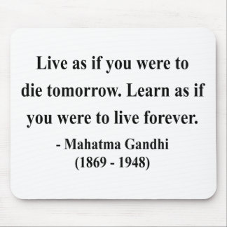 Gandhi Quote 4a Mouse Pad