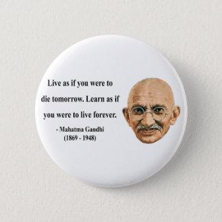 Gandhi Quote 4b Button