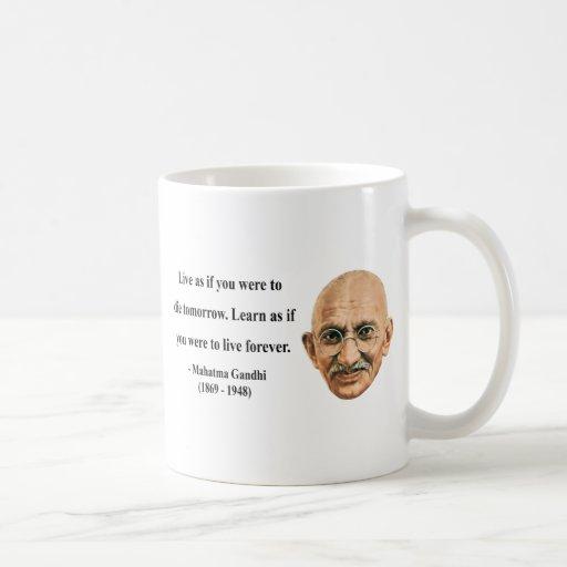 Gandhi Quote 4b Coffee Mug