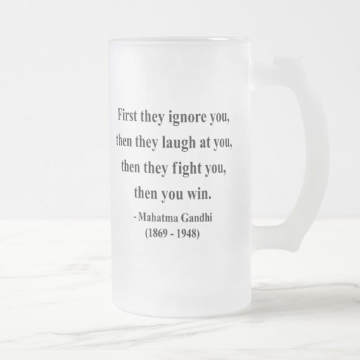 Gandhi Quote 5a Mug