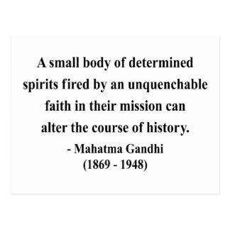Gandhi Quote 6a Postcard