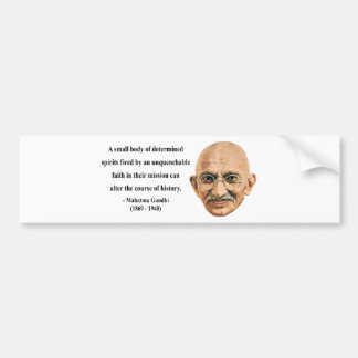 Gandhi Quote 6b Bumper Sticker