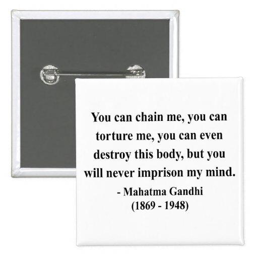 Gandhi Quote 7a Pinback Button