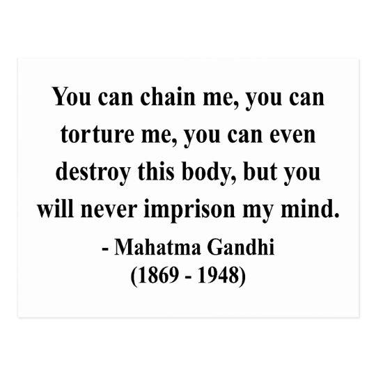 Gandhi Quote 7a Postcard