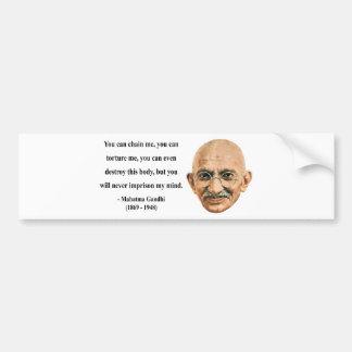 Gandhi Quote 7b Bumper Sticker