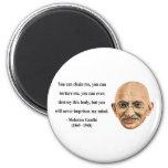 Gandhi Quote 7b Refrigerator Magnet