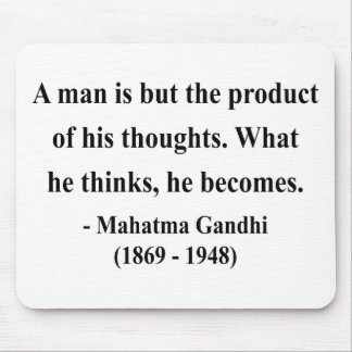 Gandhi Quote 8a Mouse Pad