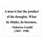 Gandhi Quote 8a Postcard