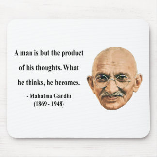 Gandhi Quote 8b Mouse Pad