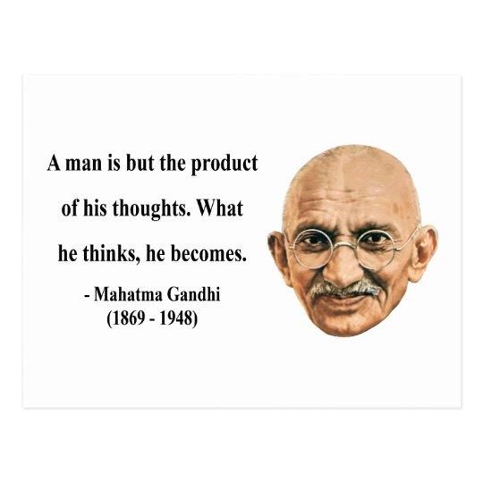 Gandhi Quote 8b Postcard