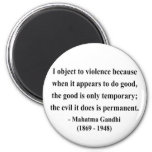 Gandhi Quote 9a Refrigerator Magnet