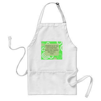 Gandhi Quote Apron