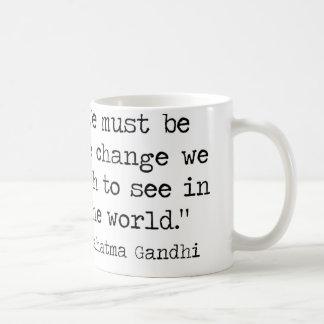 Gandhi Quote Coffee Mug