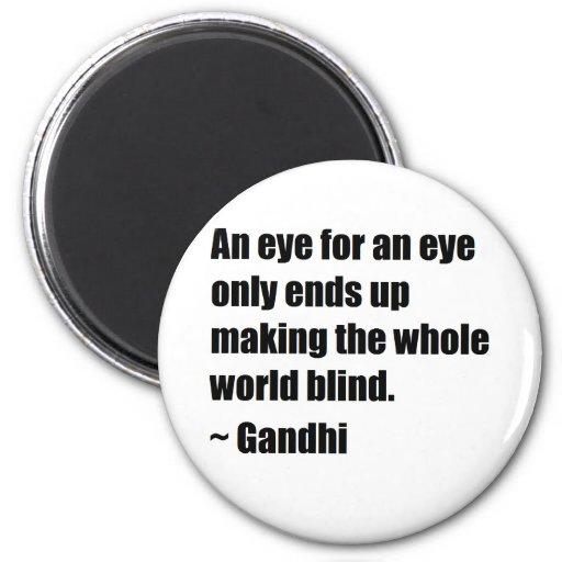 Gandhi Quote Fridge Magnet