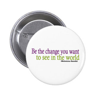 Gandhi Quote Pinback Button