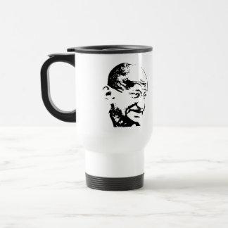 """Gandhi Quote"" Travel/Commuter Mug"