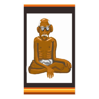 Gandhi quotes - Truth with love Business Card