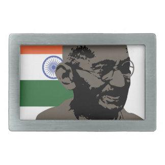 Gandhi Rectangular Belt Buckle