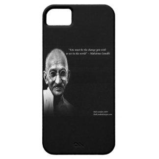Gandhi sea el caso del iPhone 5 de la cita del Funda Para iPhone SE/5/5s