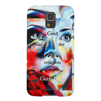 Gandhi Spiritual Quotation God Has No Religion Case For Galaxy S5