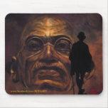 Gandhi - the mill mousepad