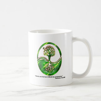Gandhi Tree Coffee Mugs
