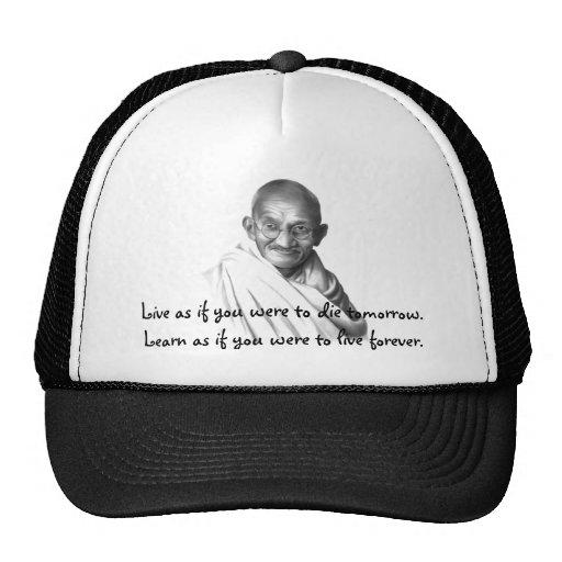 Gandhi Trucker Hat