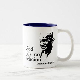 Gandhi Two-Tone Coffee Mug