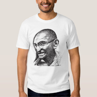 Gandhi, Tyrants and Love T-shirt