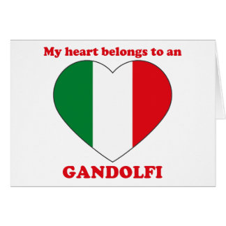 Gandolfi Greeting Card