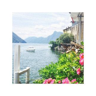 Gandria Lugano Canvas