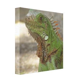 Gandulear la impresión de la lona del lagarto impresion de lienzo