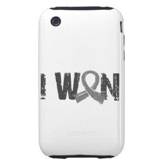 Gané al cáncer de cerebro iPhone 3 tough protector