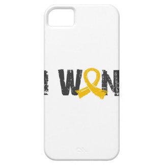 Gané al cáncer de la niñez funda para iPhone 5 barely there