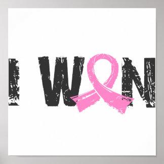 Gané al cáncer de pecho impresiones
