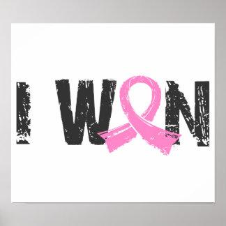 Gané al cáncer de pecho posters