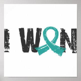 Gané al cáncer ovárico poster