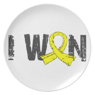 Gané el sarcoma plato de comida