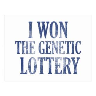 Gané la lotería genética postales