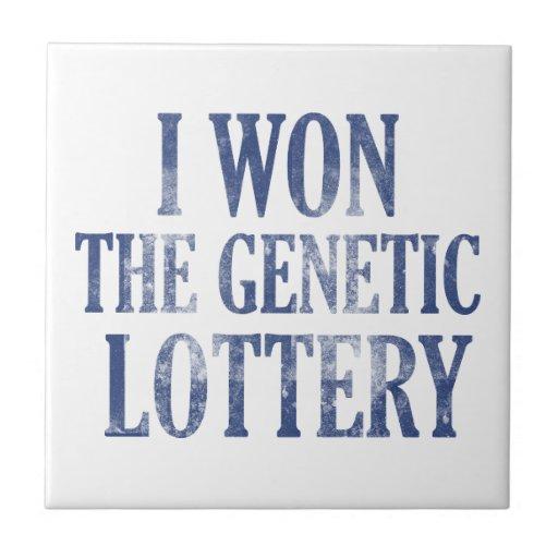 Gané la lotería genética teja