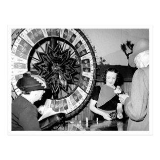 Gane un casino de Las Vegas del vintage de la fort Tarjetas Postales