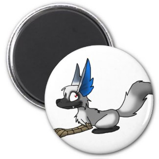 Ganene the Griffox Refrigerator Magnets