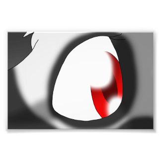 Ganene the Griffox's Eye Photographic Print